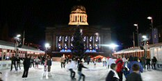 Nottingham Old Market Square, Christmas Market.